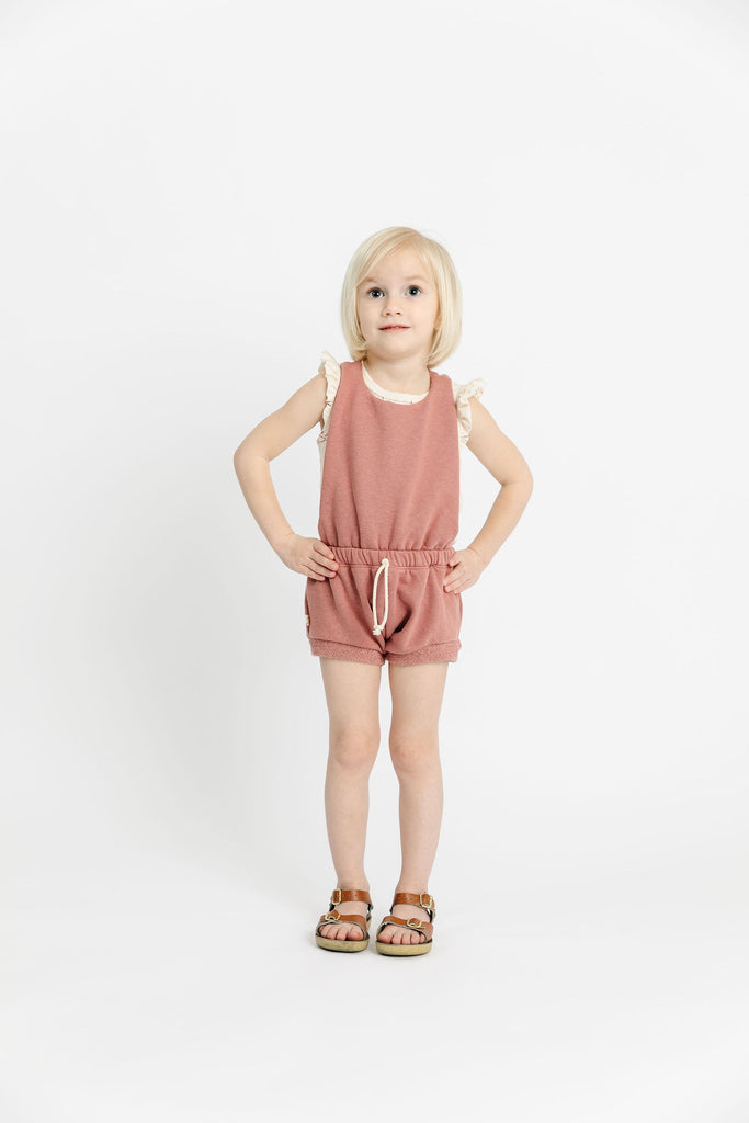 romper shortie - quartz