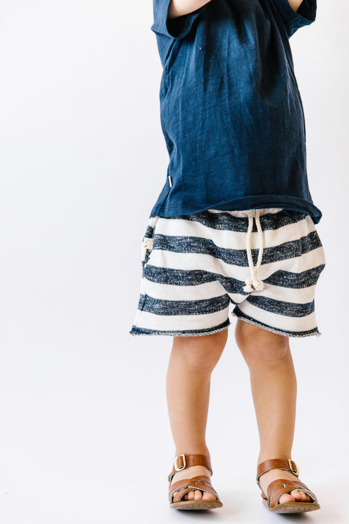 boy shorts in 'thick stripe'