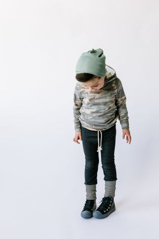 slouch beanie in 'sage'