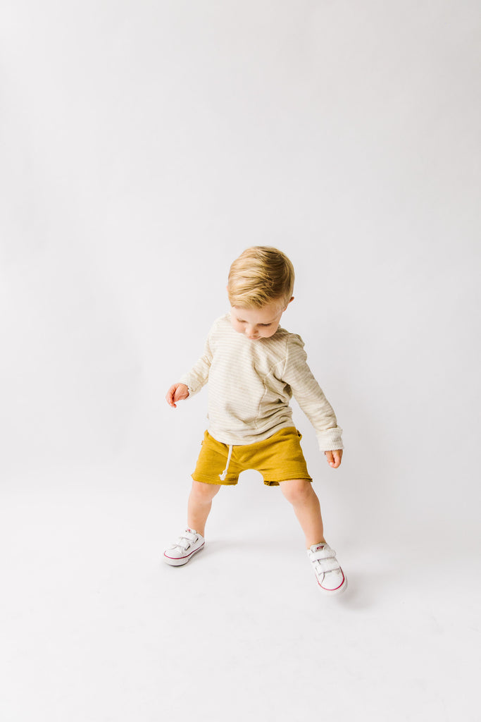 boy shorts in 'gold'