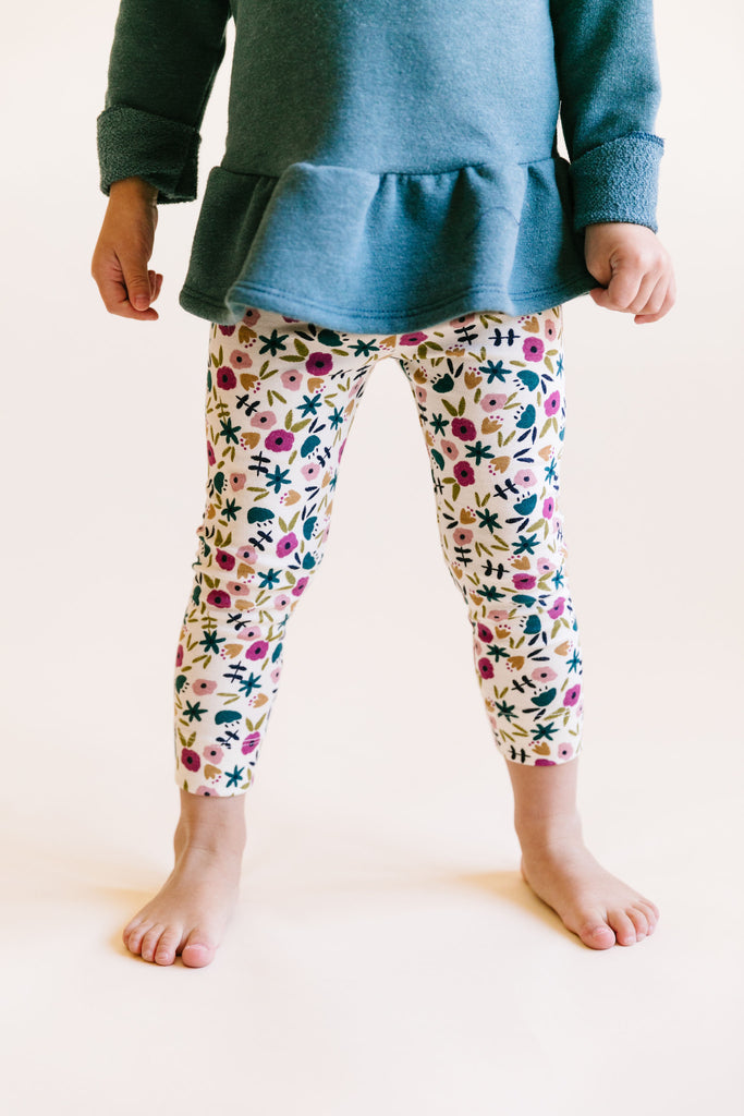 leggings in 'fall ditsy floral'