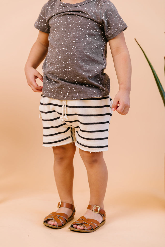 boy shorts - breton stripe