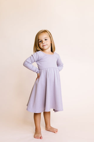 long sleeve swing dress - aura