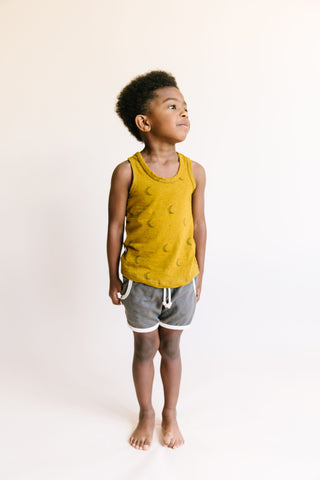 tank top - lunar on gold