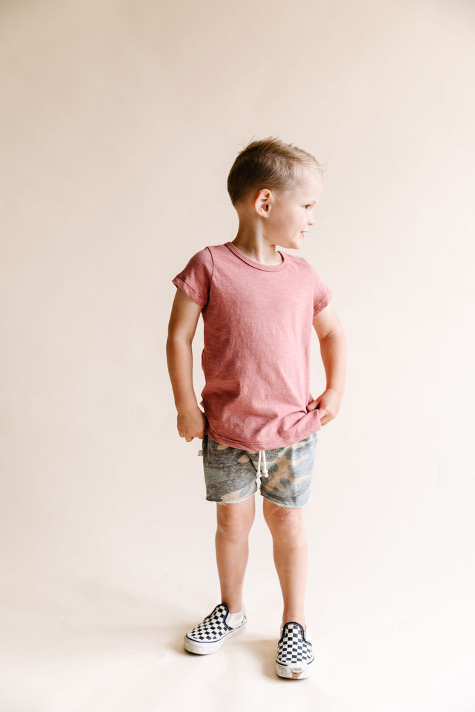 boy shorts - faded camo [please read sizing note]