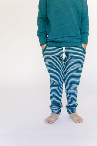 jogger in 'storm stripe'
