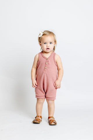 short tank romper - quartz