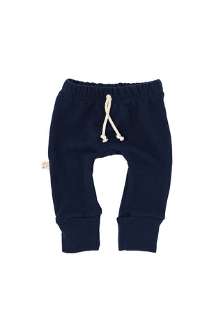 gusset pants in 'navy'