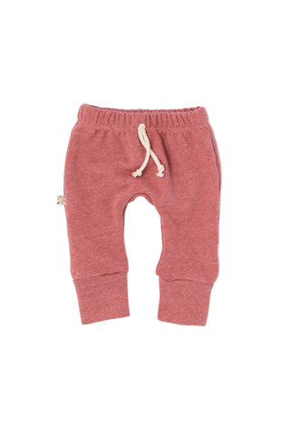 gusset pants in 'rosewood'