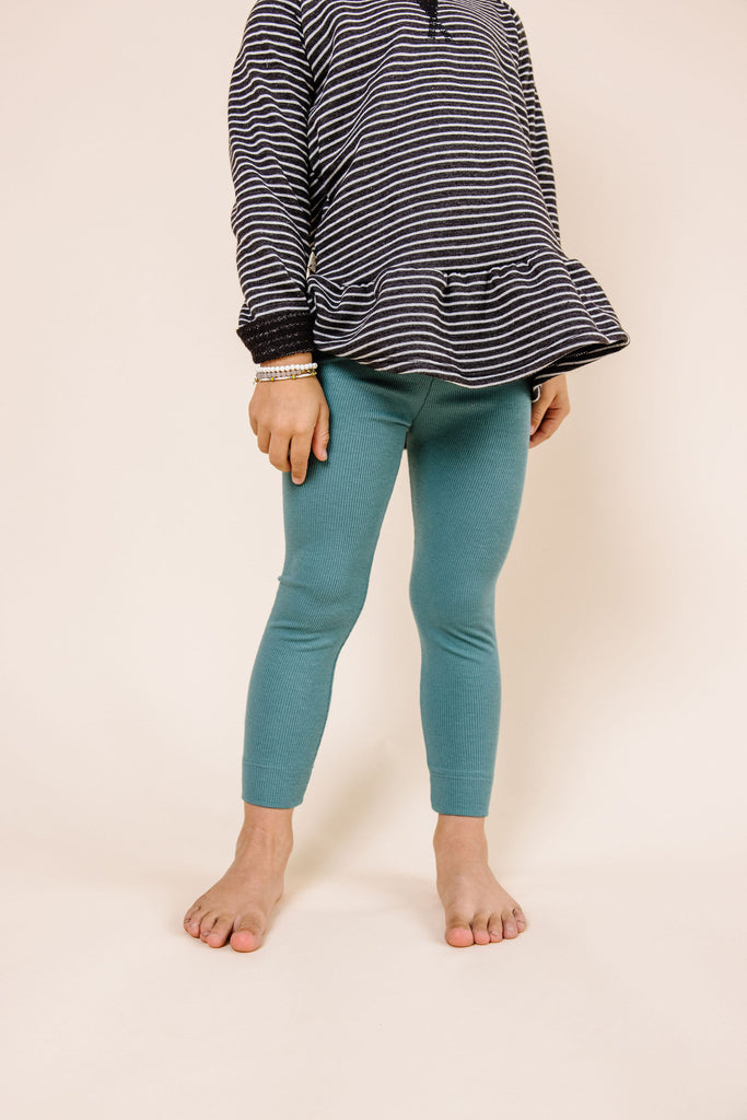 leggings - sea pine
