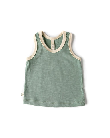 ringer tank top - tea