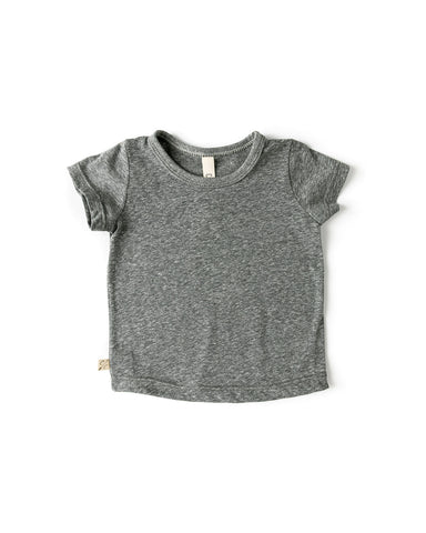 basic tee - heather gray