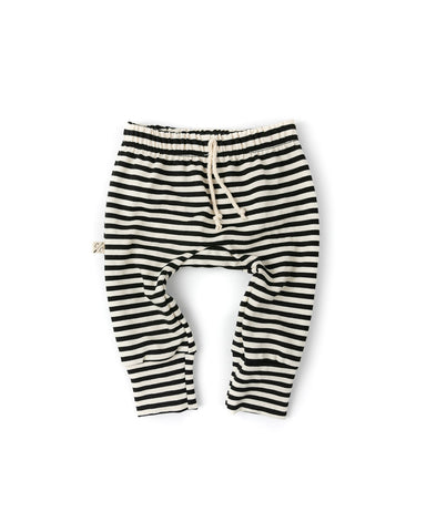 Gusset pants - black stripe