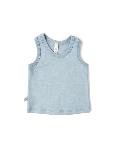 tank top - dusty blue