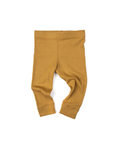 leggings - wheat