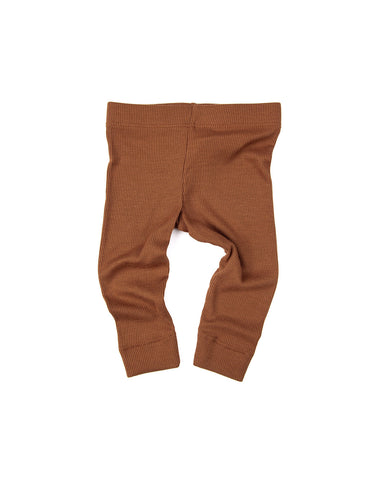 leggings - cognac