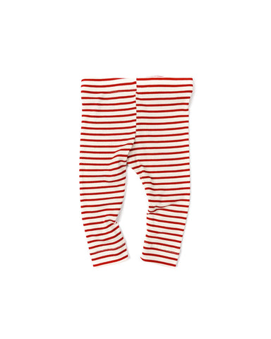 leggings - peppermint stripe