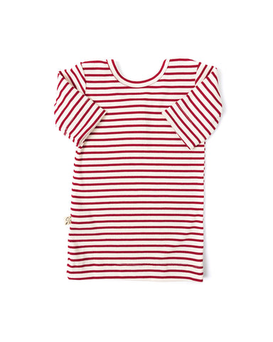 ballet top - peppermint stripe