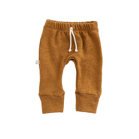 gusset pants in 'honey'