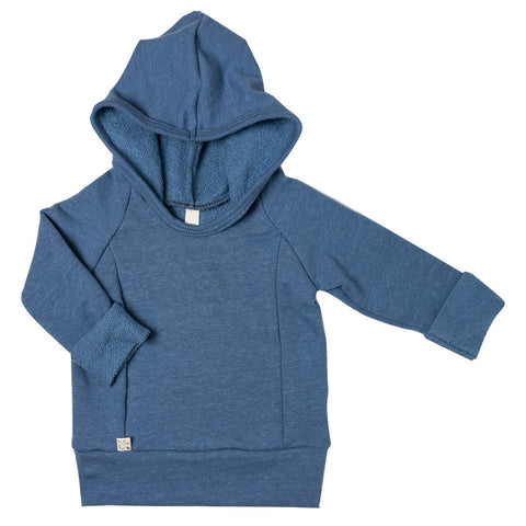beach hoodie in 'french blue'