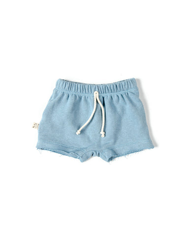 boy shorts - dusty blue