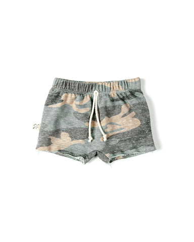 boy shorts in 'faded camo' [please read sizing note]