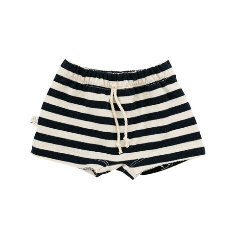 boy shorts in 'navy and cream stripe'