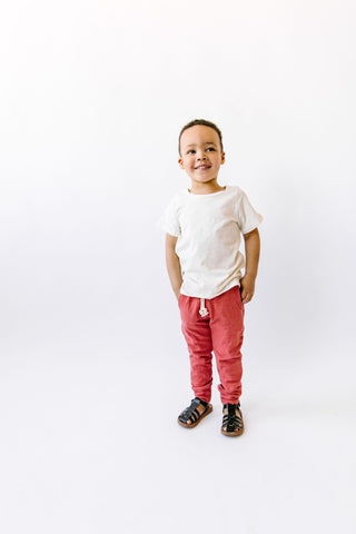 jersey jogger - adobe [please read sizing note]