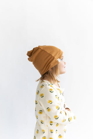 slouch beanie in 'cider'