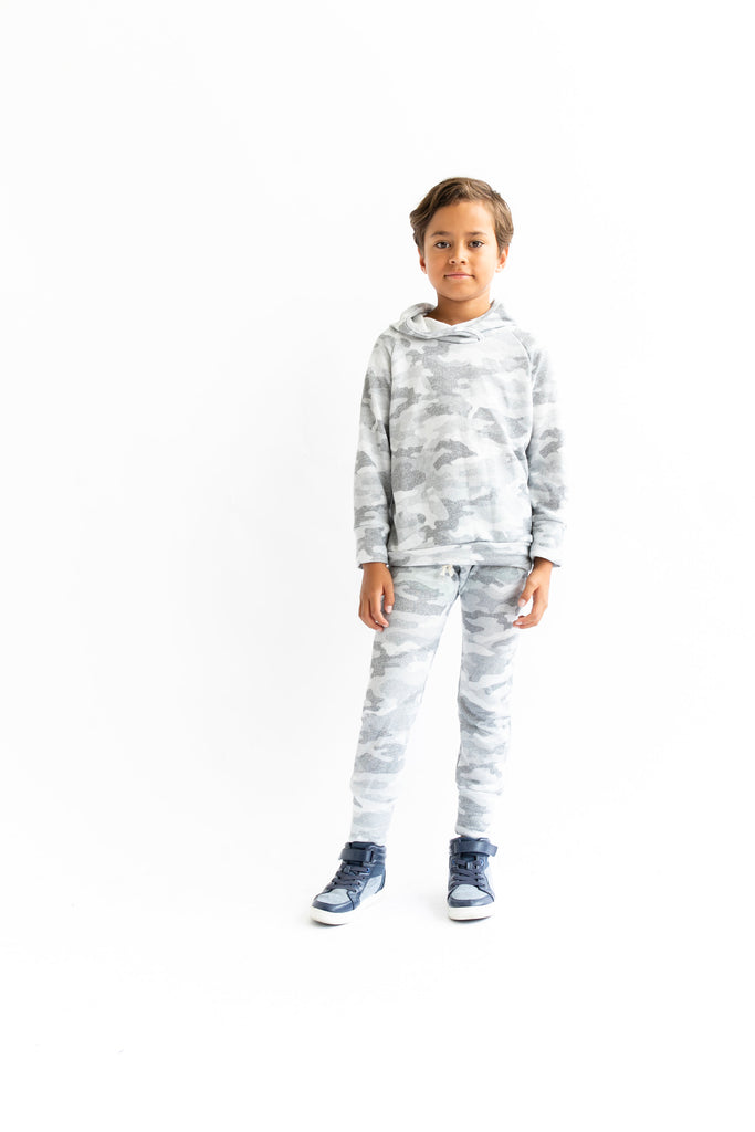 gusset pants in 'arctic camo' [please read sizing note]