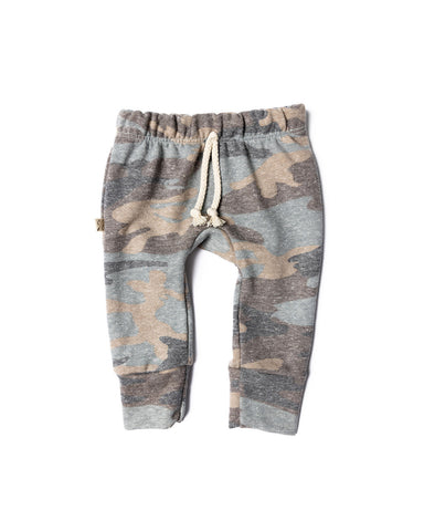 gusset pants in 'faded camo' [PLEASE READ SIZING NOTE]
