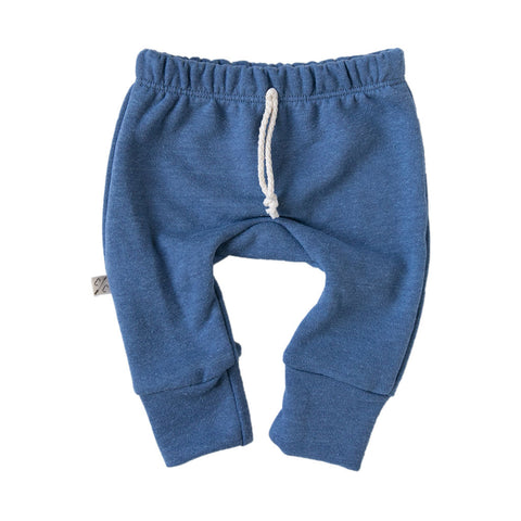 gusset pants - french blue