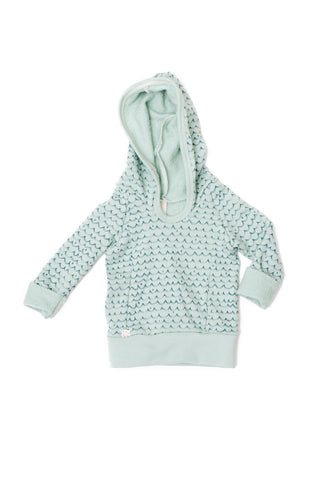 Beach hoodie in 'waves'