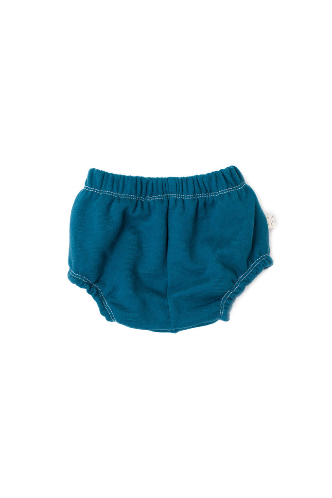 Bloomers in 'peacock' [size down]