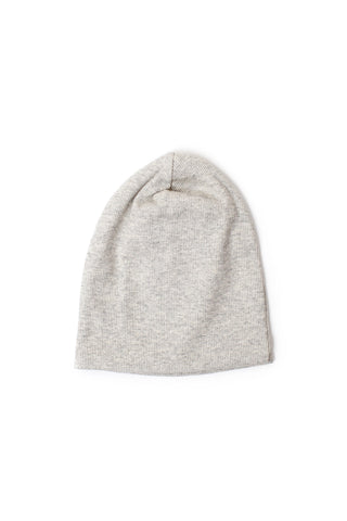slouch beanie in 'soft gray solid' rib [updated sizing]