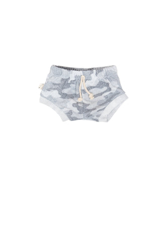 shorties in 'arctic camo' [please read sizing note]