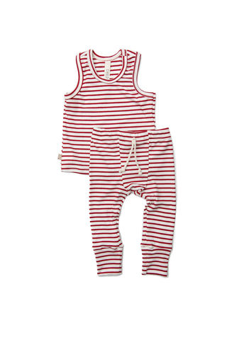 summer night set in 'candy cane stripe'