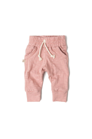 jersey jogger - clay pink [please see sizing note]