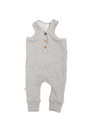 tank romper in 'medium gray'