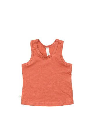 tank top in 'faded red'