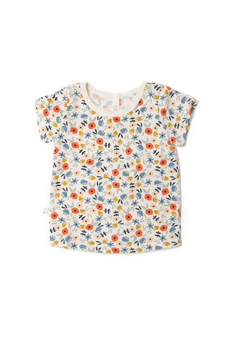 basic tee - ditsy floral