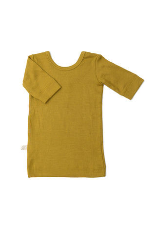 ballet top - chartreuse