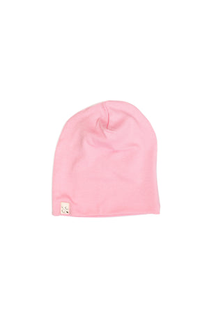 slouch beanie - bubblegum rib [updated sizing]