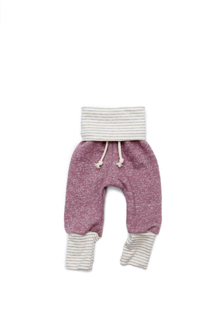 skinny sweats in 'gumdrop'