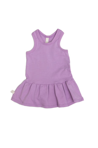 twirly tank dress in 'lavender'