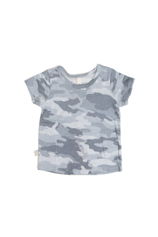basic tee in 'arctic camo' jersey