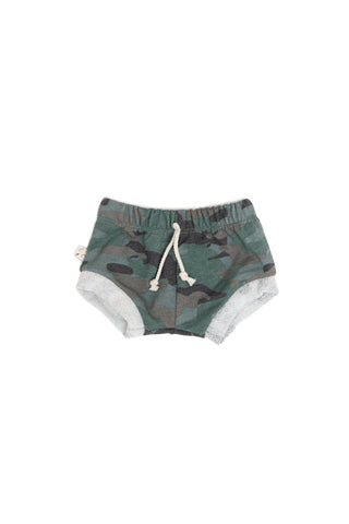shorties in 'camo' [please read sizing note]