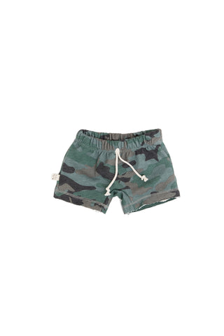 boy shorts in 'camo' [please read sizing note]
