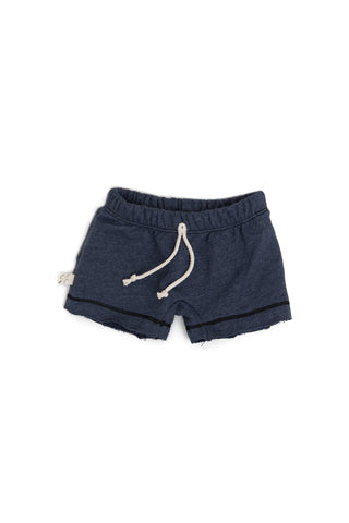 boy shorts in 'heather navy'