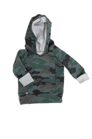 Beach hoodie in 'camo' [please read sizing note]